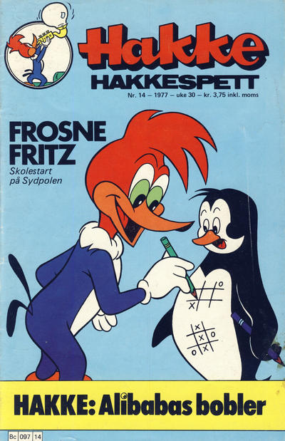 Cover for Hakke Hakkespett (Semic, 1977 series) #14/1977