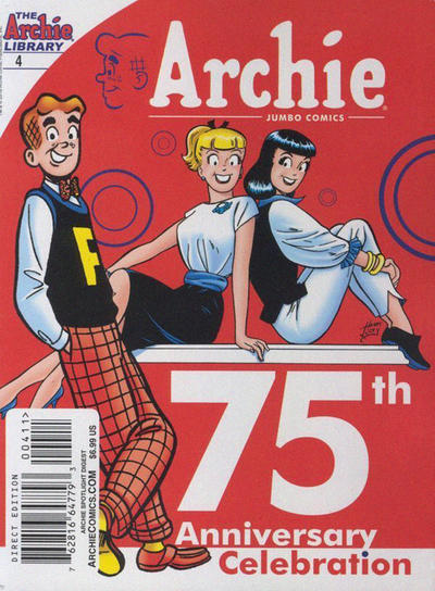 Cover for Archie Spotlight Digest: Archie 75th Anniversary Digest (Archie, 2016 series) #4