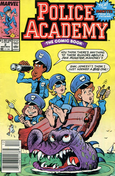 Cover for Police Academy (Marvel, 1989 series) #2 [Direct]