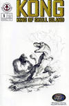 Cover for Kong: King of Skull Island (Markosia Publishing, 2007 series) #1 [Limited Edition Sketch Variant Cover by Tommy Castillo]