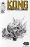 Cover for Kong: King of Skull Island (Markosia Publishing, 2007 series) #3 [Retailer Incentive Sketch Variant]
