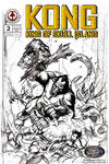 Cover for Kong: King of Skull Island (Markosia Publishing, 2007 series) #2 [Retailer Incentive Sketch Variant]