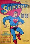 Cover for Superman (Egmont Ehapa, 1966 series) #1/1966 [Grüner Balken]