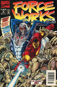 Cover Thumbnail for Force Works (Marvel, 1994 series) #2 [Newsstand]