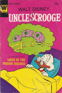 Cover Thumbnail for Uncle Scrooge (Western, 1963 series) #112 [Whitman]