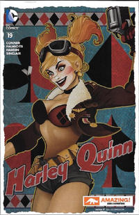 Cover Thumbnail for Harley Quinn (DC, 2014 series) #19 [Amazing Comic Con Variant]