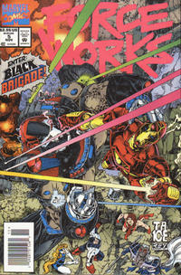 Cover Thumbnail for Force Works (Marvel, 1994 series) #5 [Newsstand Bagged Edition]