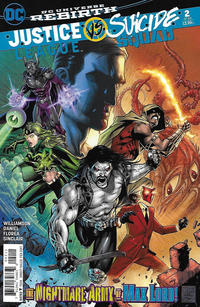 Cover Thumbnail for Justice League vs. Suicide Squad (DC, 2017 series) #2 [Tony Daniels / Mark Morales Cover]