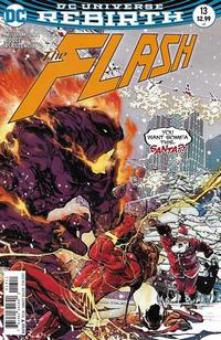Cover Thumbnail for The Flash (DC, 2016 series) #13 [Carmine Di Giandomenico Cover]