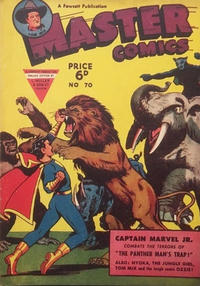 Cover Thumbnail for Master Comics (L. Miller & Son, 1950 series) #70