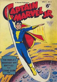 Cover Thumbnail for Captain Marvel Jr. (L. Miller & Son, 1953 series) #2