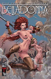Cover Thumbnail for Belladonna (Avatar Press, 2015 series) #1 [Viking Vixens Nude - Matt Martin]