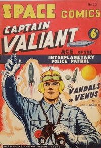 Cover Thumbnail for Space Comics (Arnold Book Company, 1953 series) #55