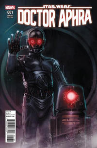 Cover Thumbnail for Doctor Aphra (Marvel, 2017 series) #1 [Incentive Rod Reis 'Droids' Variant]