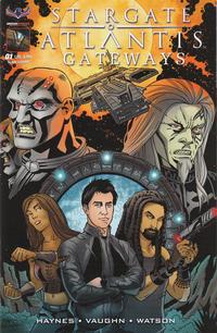 Cover Thumbnail for Stargate Atlantis Gateways (American Mythology Productions, 2016 series) #1 [Cover A Matt Wieringo]