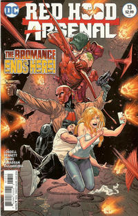 Cover Thumbnail for Red Hood / Arsenal (DC, 2015 series) #13