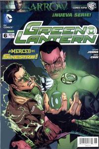 Cover Thumbnail for Green Lantern (Editorial Televisa, 2012 series) #6