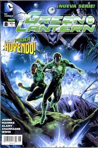 Cover Thumbnail for Green Lantern (Editorial Televisa, 2012 series) #8