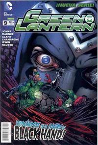 Cover Thumbnail for Green Lantern (Editorial Televisa, 2012 series) #9
