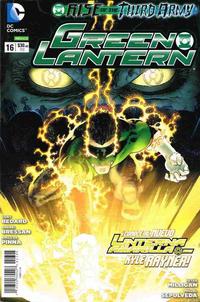 Cover Thumbnail for Green Lantern (Editorial Televisa, 2012 series) #16