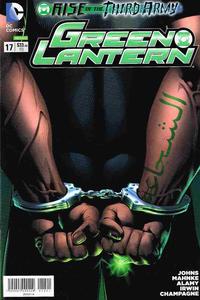 Cover Thumbnail for Green Lantern (Editorial Televisa, 2012 series) #17