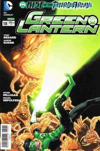 Cover Thumbnail for Green Lantern (Editorial Televisa, 2012 series) #18