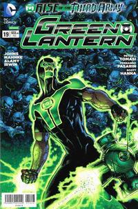 Cover Thumbnail for Green Lantern (Editorial Televisa, 2012 series) #19