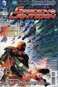 Cover Thumbnail for Green Lantern (Editorial Televisa, 2012 series) #21