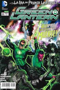 Cover Thumbnail for Green Lantern (Editorial Televisa, 2012 series) #22