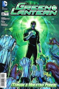 Cover Thumbnail for Green Lantern (Editorial Televisa, 2012 series) #24