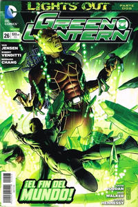 Cover Thumbnail for Green Lantern (Editorial Televisa, 2012 series) #26