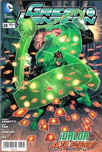 Cover Thumbnail for Green Lantern (Editorial Televisa, 2012 series) #28