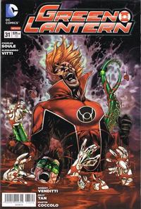 Cover Thumbnail for Green Lantern (Editorial Televisa, 2012 series) #31
