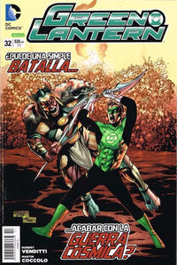 Cover Thumbnail for Green Lantern (Editorial Televisa, 2012 series) #32