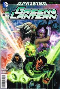 Cover Thumbnail for Green Lantern (Editorial Televisa, 2012 series) #34