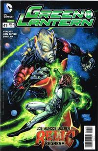Cover Thumbnail for Green Lantern (Editorial Televisa, 2012 series) #41