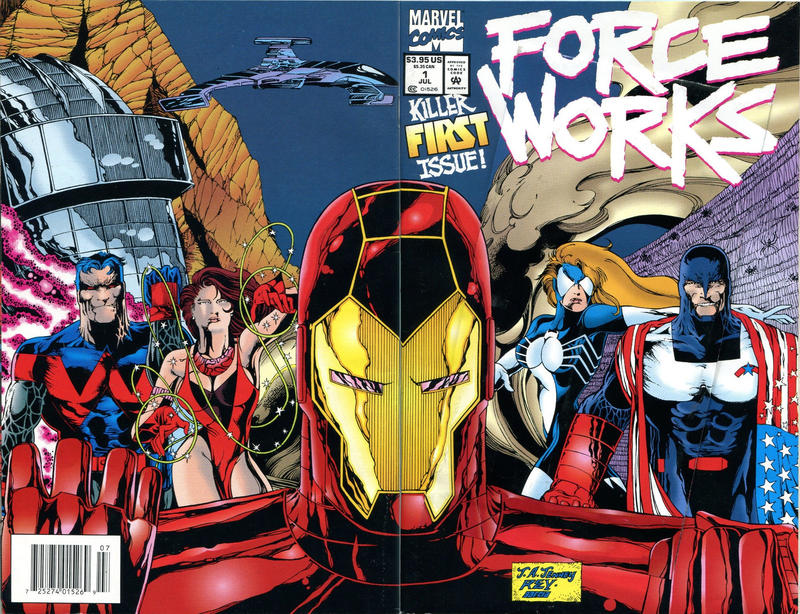 Cover for Force Works (Marvel, 1994 series) #1 [Newsstand]