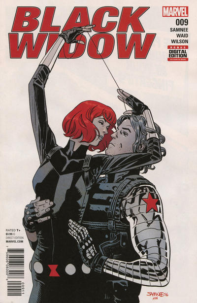 Cover for Black Widow (Marvel, 2016 series) #9