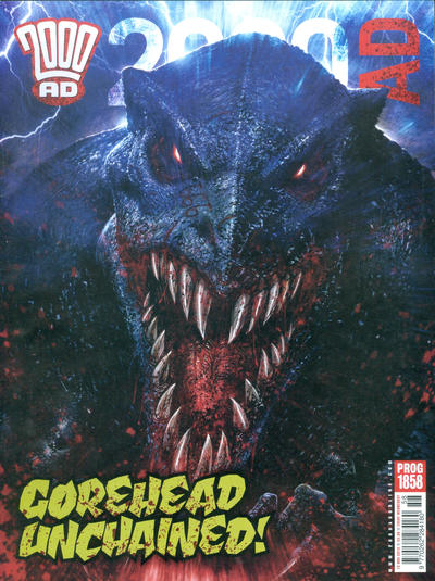 Cover for 2000 AD (Rebellion, 2001 series) #1858