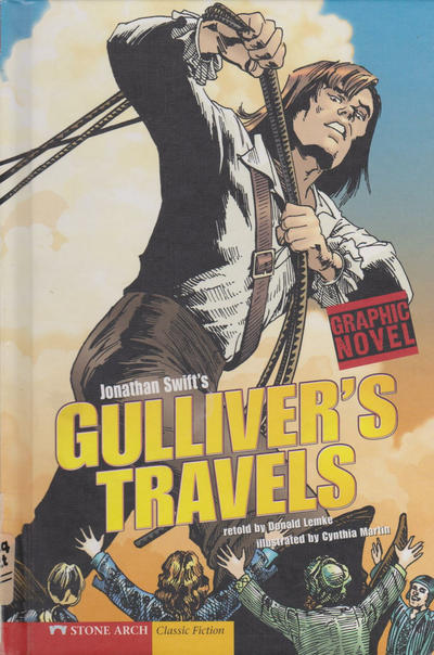 Cover for Gulliver's Travels (Capstone Publishers, 2008 series)