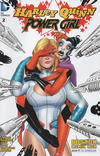 Cover Thumbnail for Harley Quinn and Power Girl (2015 series) #2 [Boston Comic Con Cover]