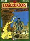 Cover for Arno (Glénat, 1984 series) #2 - L'œil de Kéops