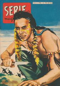 Cover Thumbnail for Seriemagasinet (Centerförlaget, 1948 series) #5/1956