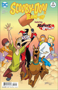 Cover Thumbnail for Scooby-Doo Team-Up (DC, 2014 series) #21 [Direct Sales]