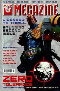 Cover Thumbnail for Judge Dredd Megazine (Egmont Fleetway Ltd, 2001 series) #2
