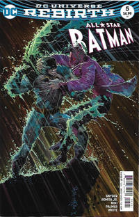 Cover Thumbnail for All Star Batman (DC, 2016 series) #5 [John Romita Jr. Cover Variant]