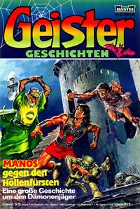 Cover Thumbnail for Geister Geschichten (Bastei Verlag, 1980 series) #82