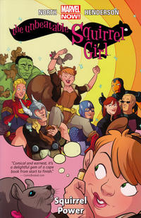 Cover Thumbnail for The Unbeatable Squirrel Girl (Marvel, 2015 series) #1 - Squirrel Power