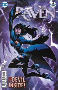 Cover Thumbnail for Raven (DC, 2016 series) #4