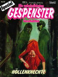 Cover Thumbnail for Gespenster Geschichten Spezial (Bastei Verlag, 1987 series) #51 - Höllenknechte